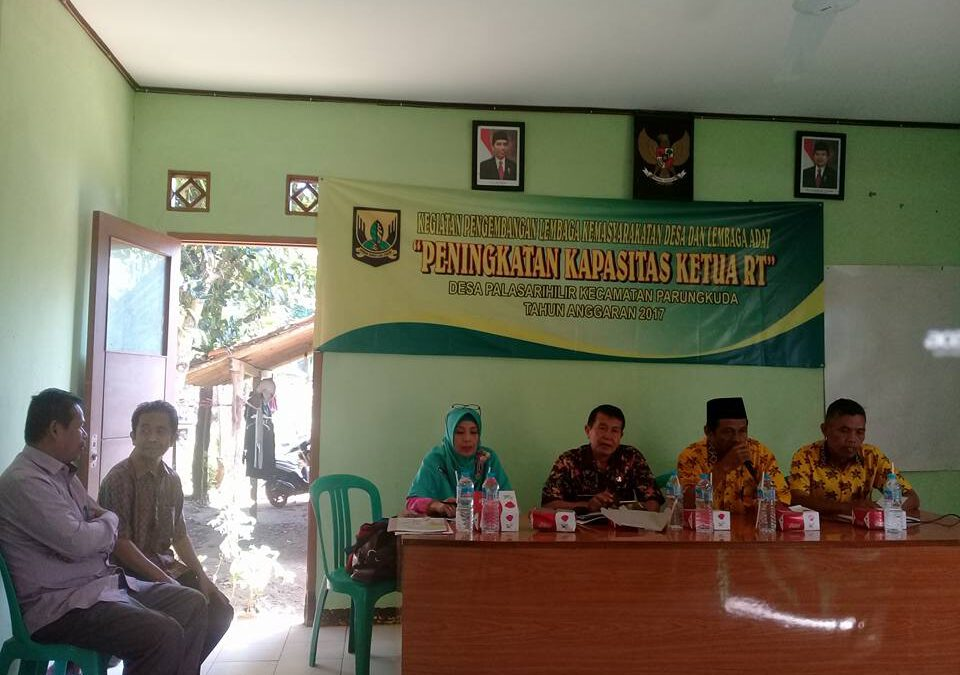Pelatihan Peningkatan Kapasitas Rt dan Rw Desa Palasarihilir