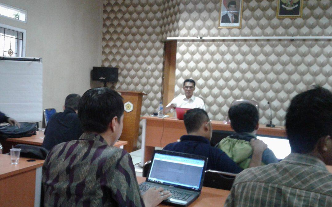 Rakor Pendamping Desa Cluster 2 Program P3MD Kab. Sukabumi