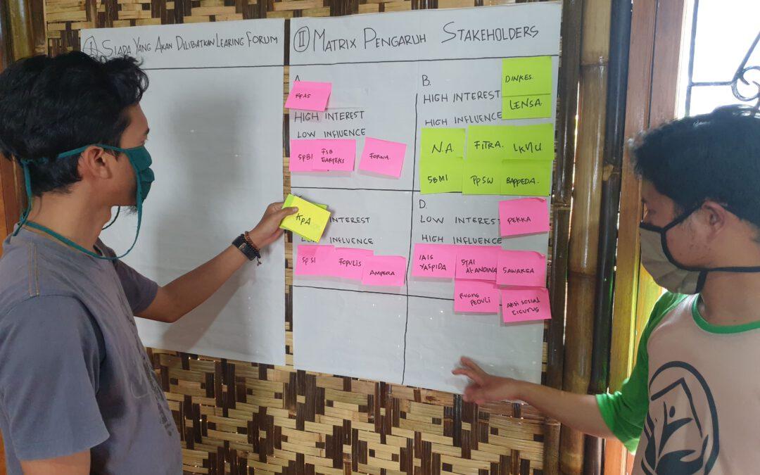 Learning Forum Stakeholder Analisis Yayasan Saba Desa
