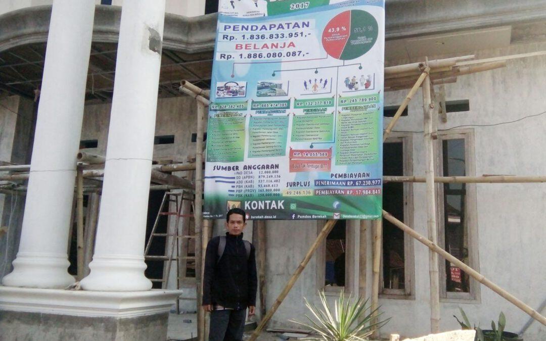 Tiga Desa Di Kecamatan Bojonggenteng Sudah Pasang Baligo Apbdesa