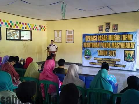 Operasi Pasar Murah (OPM) Kebutuan Pokok Masyarakat Tahun 2017