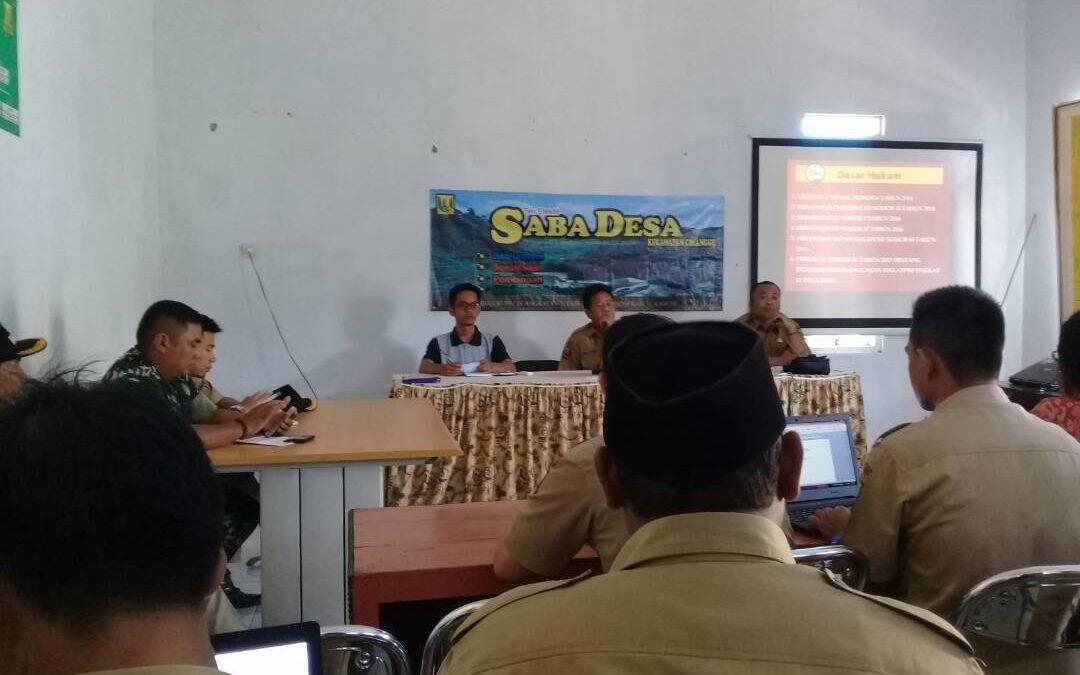 Cimanggu; Aplikasi SIMADU Untuk Kelola Aset Desa