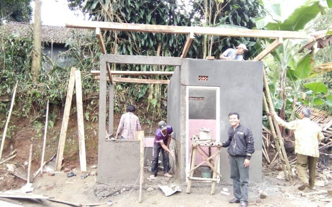 Desa Seuseupan; Pembangunan MCK Wujud Komitmen SDGs