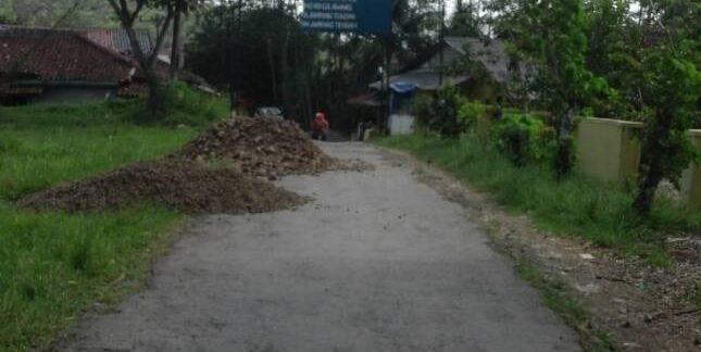 Desa Jampangtengah; Dana Desa Untuk Pengaspalan Jalan Desa