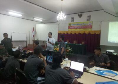 Sabadesa Fasilitasi BKAD Kecamatan Pabuaran Pelatihan Video Dokumenter