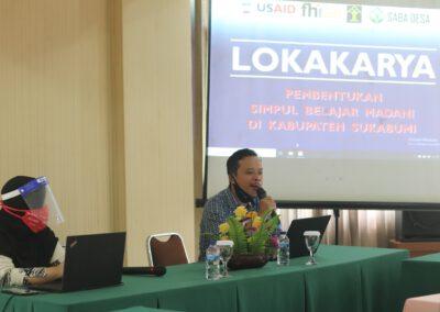 Lokakarya Pembentukan Simpul Belajar Madani