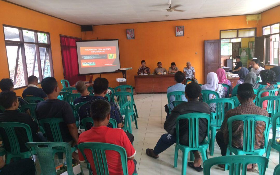 Desa Sundawenang ; Gelar Musdes Untuk Pemilihan Direktur BUMDesa
