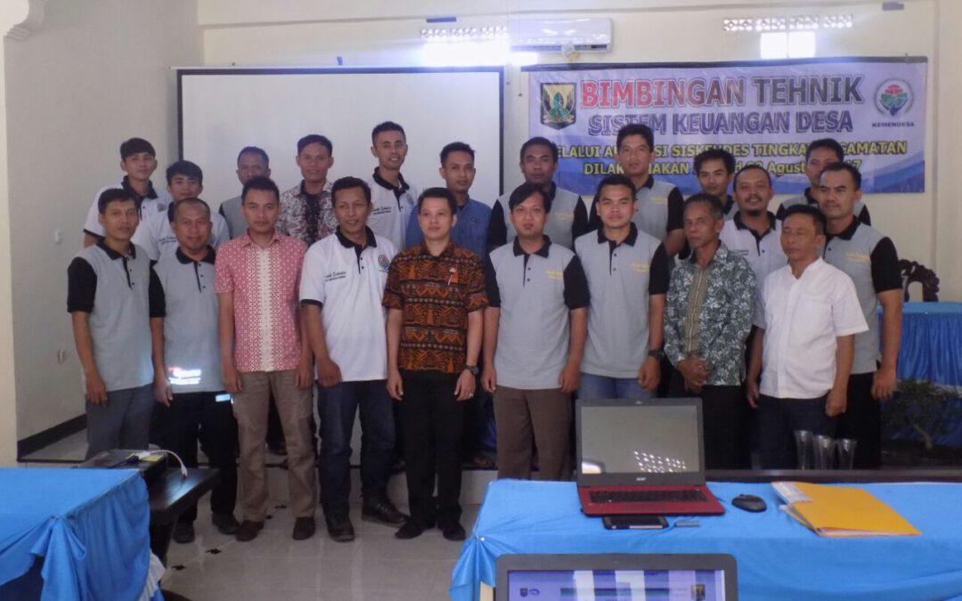 BKAD Kecamatan Ciemas; BIMTEK Pengelolaan Keuangan Desa
