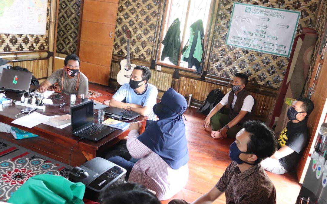 Pembahasan Penyusunan Draft SOP Yayasan Saba Desa