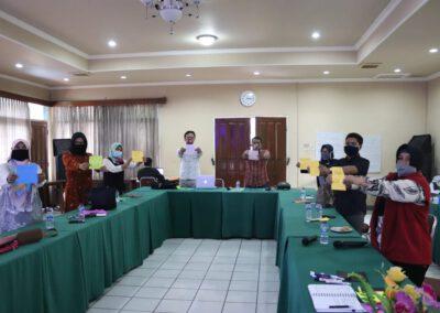 Pelatihan Mitra Utama MADANI dan Anggota Simpul Belajar