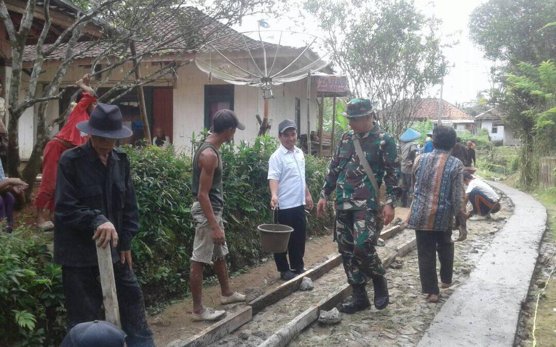 Desa Sindangraja ; Pembangunan Infrastruktur Masih Menjadi Prioritas