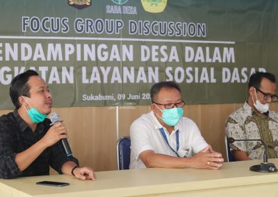 Sabadesa Menggelar Kegitatan FGD untuk Penurunan AKI-AKB Di Sukabumi