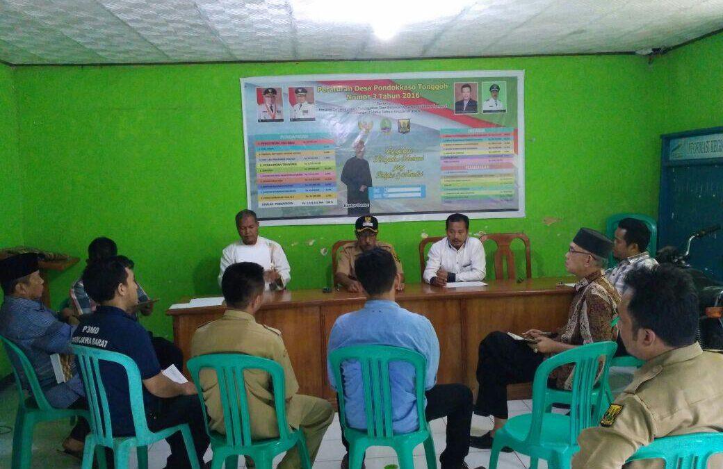 Sosialisasi Pembangunan Desa Pondokasotonggoh