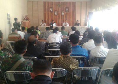 Rakor kecamatan Nyalindung: Sinergitas antar stakeholder untuk optimalisasi pembangunan Desa