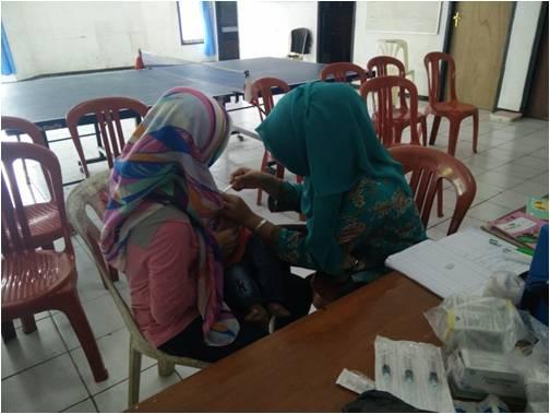 Antisipasi Penyakit Menular Balita di Desa Ciambar