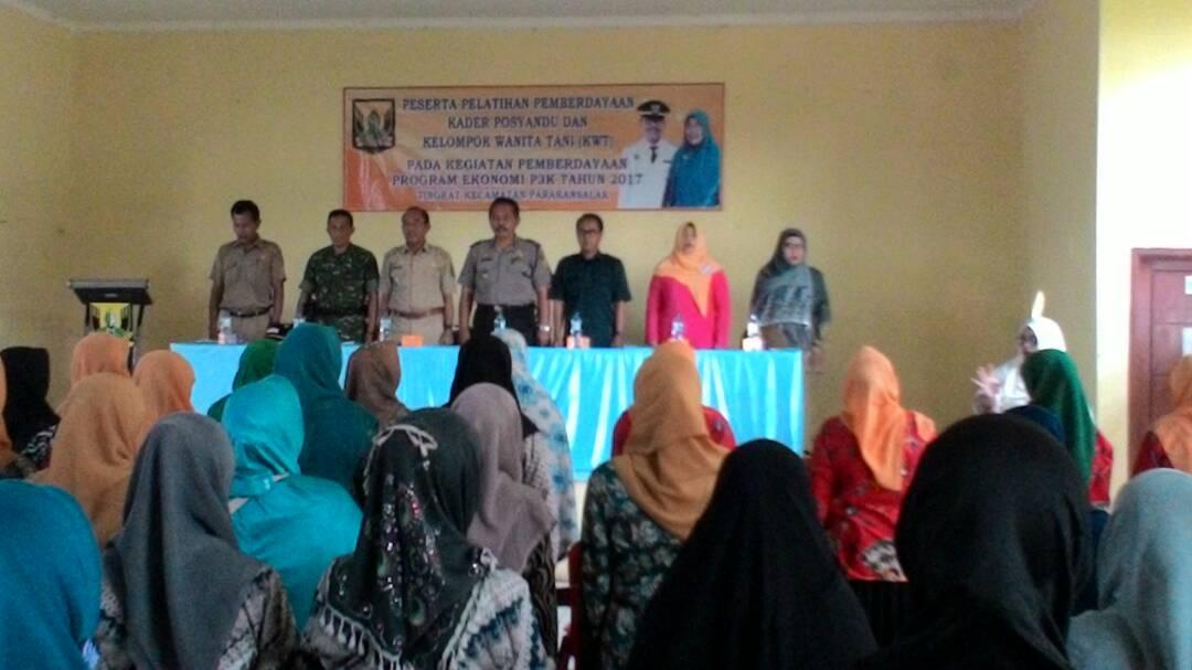 Pelatihan Pemberdayaan Posyandu Dan Kelompok Wanita Tani
