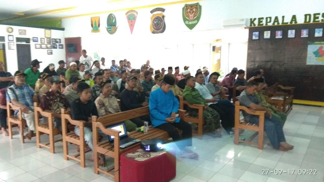 Musrenbang desa Ciwaru 2017 untuk tahun 2018
